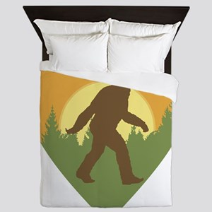 Bigfoot Love Queen Duvet